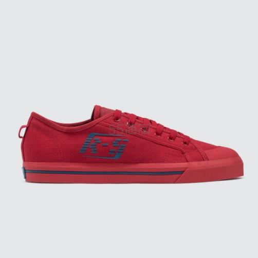 Adidas By Raf Simons Spirit Low 阿迪达斯合作款 红色 运动鞋 5(约810元) - 海淘优惠海淘折扣|55海淘网