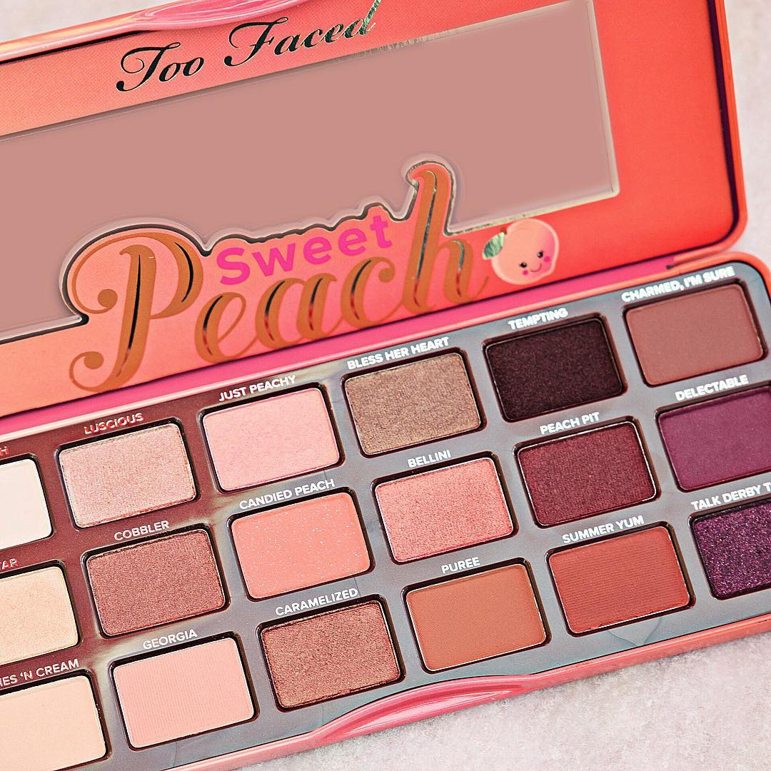 Too Faced Sweet Peach 18色蜜桃眼影盘