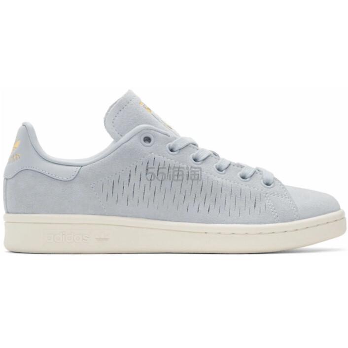 买白菜了~~adidas Originals Blue Suede Stan Smith Sneakers 女款运动鞋 (约170元) - 海淘优惠海淘折扣|55海淘网