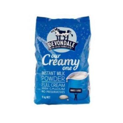 【额外8.8折+赠果泥】Devondale 德运高钙成人奶粉 1kg 8.95澳币(约44元) - 海淘优惠海淘折扣|55海淘网