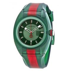 Gucci 古驰 Sync XL 系列 YA137113 男士双色时尚腕表