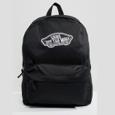 Vans Realm Black Backpack 黑色 背包