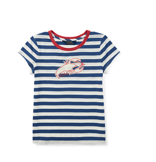 Ralph Lauren Cotton T-Shirt 拉夫劳伦 女童 短袖