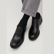 COS LEATHER DERBY SHOES 男士 皮鞋