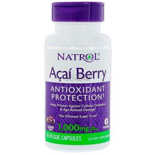 Natrol 终极超级水果 巴西莓素食胶囊 1000mg 75粒 .06(约48元) - 海淘优惠海淘折扣|55海淘网