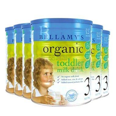 【包邮装】Bellamys 贝拉米婴幼儿奶粉 3段 900g*6罐 1(约1,067元) - 海淘优惠海淘折扣 55海淘网