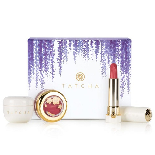 Tatcha SILK & GOLD LUXURIES SET 新款唇部护理套装