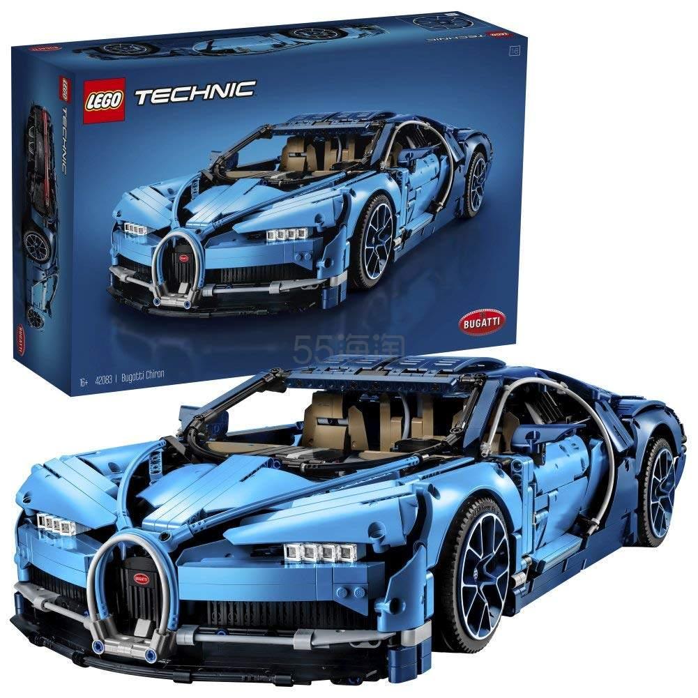 LEGO 乐高 Technic 科技超旗舰 42083 布加迪奇龙 £224.99(约1,919元) - 海淘优惠海淘折扣|55海淘网