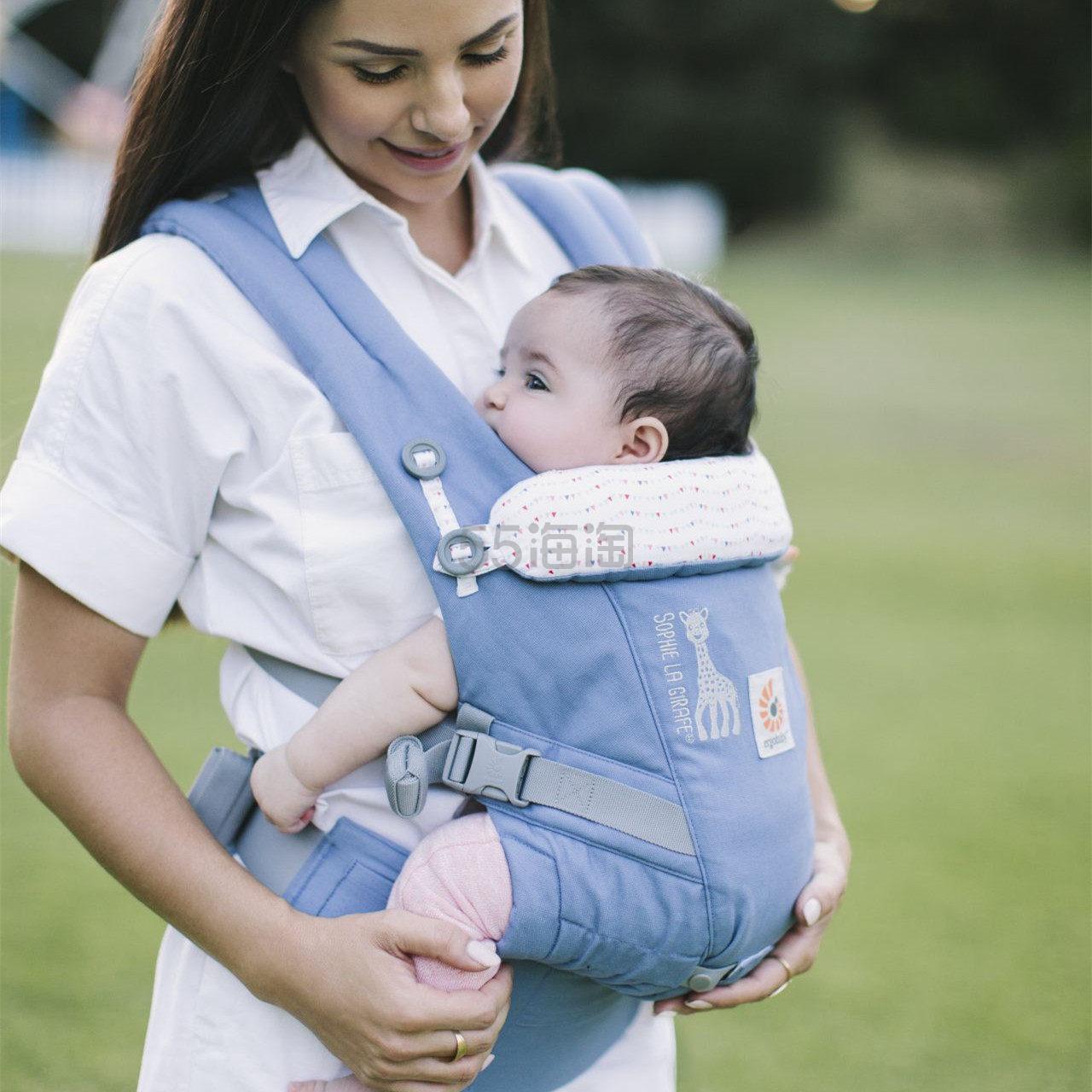 【直邮中国】Ergobaby x Sophie La Girafe 合作款婴儿背带 €74.79(约583元) - 海淘优惠海淘折扣|55海淘网