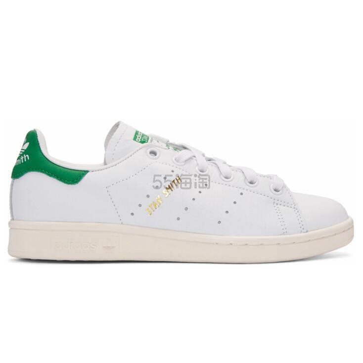 adidas Originals White & Green Stan Smith 女士小绿尾 (约245元) - 海淘优惠海淘折扣 55海淘网