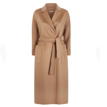 Max Mara Algeri Wool Wrap Coat 外套