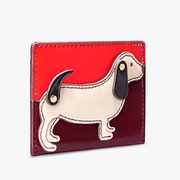 Tory Burch DACHSHUND ZIP COIN CASE 卡包