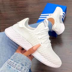 【杨幂同款】adidas Originals 三叶草 Deerupt 女子网格跑鞋