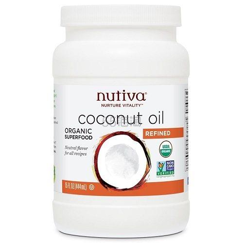 【9折】Nutiva 有机椰子油 444ml .58(约52元) - 海淘优惠海淘折扣|55海淘网