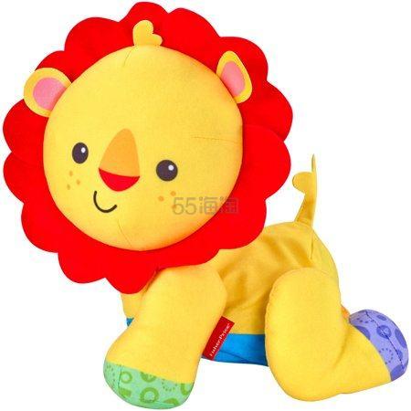 Fisher Price 费雪 狮子爬行玩具 .99(约129元) - 海淘优惠海淘折扣|55海淘网