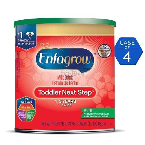 Enfagrow 美赞臣 幼儿奶粉3罐(24oz./罐) 加送6瓶液体奶 套装 .97(约369元) - 海淘优惠海淘折扣|55海淘网