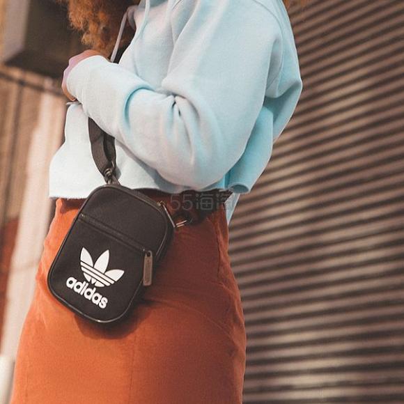 adidas Originals 阿迪达斯三叶草 斜背包 ¥152.7 - 海淘优惠海淘折扣|55海淘网