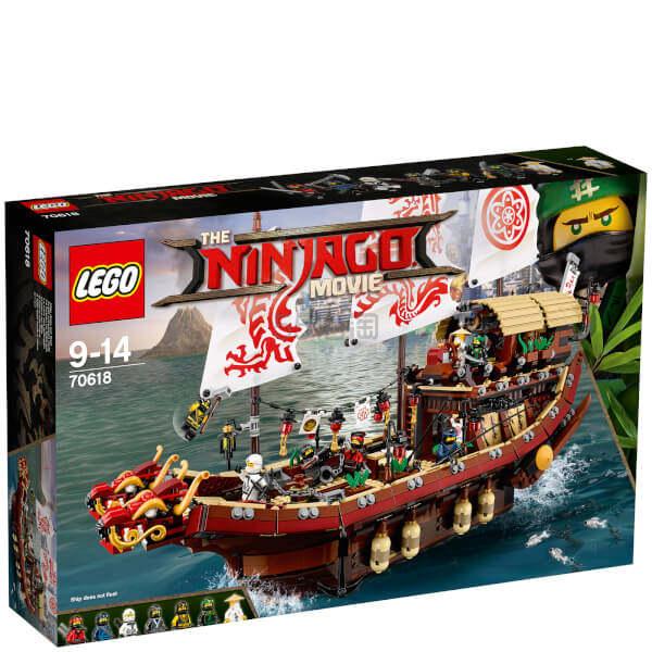 免邮中国!LEGO 乐高幻影忍者系列 命运赏赐号 (70618) £99(约843元) - 海淘优惠海淘折扣|55海淘网