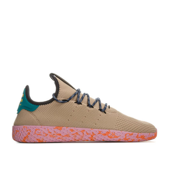 【单双到手290元】Adidas 男士 Pharrell Williams Tennis HU 休闲运鞋