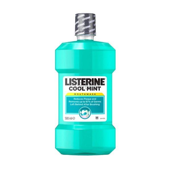 【好价】Listerine 李施德林漱口水冰蓝口味 500ml £2(约18元) - 海淘优惠海淘折扣|55海淘网