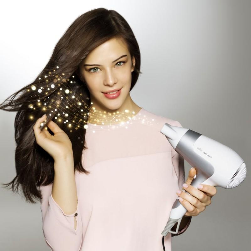 Braun 博朗 Satin Hair 5 HD580 炫发护色系列负离子电吹风机