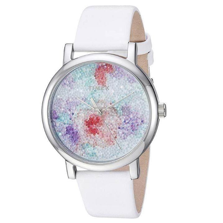 【中亚Prime会员】Timex 天美时 施华洛世奇水晶时装女士手表 白色 到手价378元 - 海淘优惠海淘折扣|55海淘网