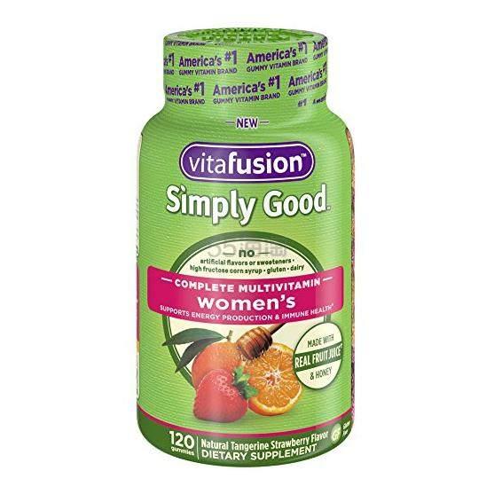 【中亚Prime会员】Vitafusion Simply Good 女性复合维生素软糖 水果果汁口味 120粒 到手价94元 - 海淘优惠海淘折扣|55海淘网