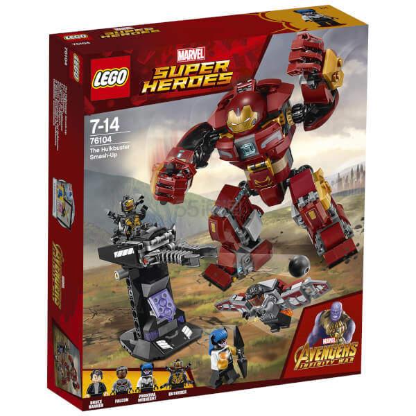 LEGO 乐高 漫威超级英雄系列 钢铁侠反浩克装甲 76104 .99(约136元) - 海淘优惠海淘折扣|55海淘网
