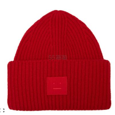 Acne Studios Pansy S Face Wool Beanie 帽子 £99(约888元) - 海淘优惠海淘折扣 55海淘网