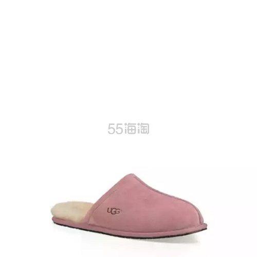 UGG 经典款粉色女士拖鞋 .99(约330元) - 海淘优惠海淘折扣|55海淘网