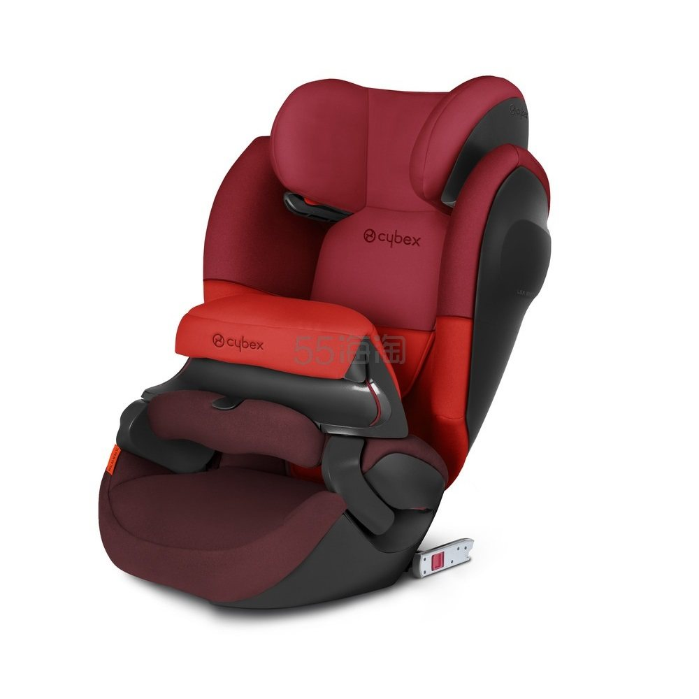 8.5折好价!Cybex 赛百斯 Pallas M-fix SL 儿童汽车安全座椅 伦巴红色 €190.71(约1,528元) - 海淘优惠海淘折扣 55海淘网