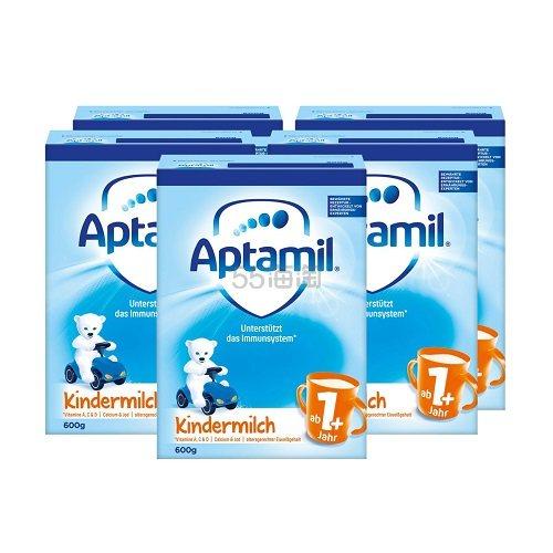 德国热销!Aptamil 爱他美 幼儿奶粉 1+段 600g*5盒装 €55.99(约426元) - 海淘优惠海淘折扣|55海淘网