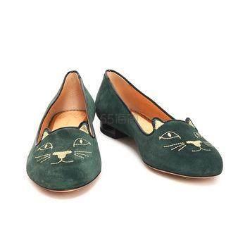 四色可选~Charlotte Olympia 经典款 猫咪平底鞋 7.6(约1,268元) - 海淘优惠海淘折扣|55海淘网