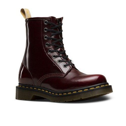 Dr. Martens Vegan 1460 系列 剑桥马丁靴 樱桃红 24226600 £75(约683元) - 海淘优惠海淘折扣|55海淘网