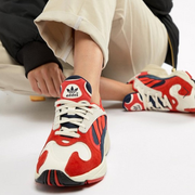仅剩6.5码!adidas Originals Yung-1 拼色老爹鞋