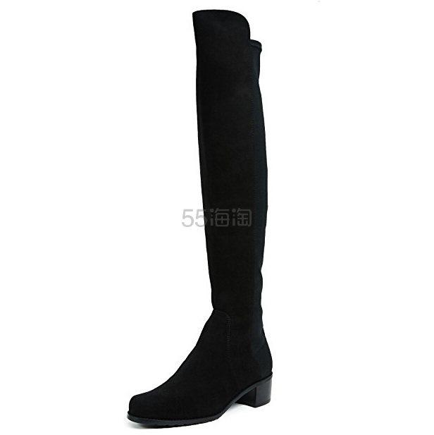 Stuart Weitzman Reserve 麂皮高筒靴 2.24(约3,754元) - 海淘优惠海淘折扣|55海淘网