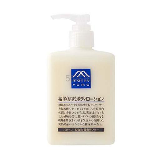 【日亚自营】M-mark 松山油脂 柚子身体乳 300ml