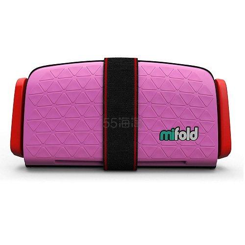 出行好助手!【中亚Prime会员】Mifold Grab-and-Go 儿童增高型便携安全座椅 玫粉色