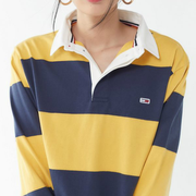 Tommy Jeans 经典女士 POLO 长袖