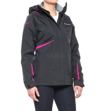 码全多色~Columbia 哥伦比亚 Blazing Star Interchange 女士三合一冲锋衣夹克 .99(约484元) - 海淘优惠海淘折扣|55海淘网