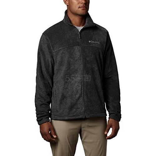 【中亚Prime会员】Columbia 哥伦比亚 Steens Mountain 2.0 男士抓绒/摇粒绒拉链卫衣外套 到手价226元 - 海淘优惠海淘折扣|55海淘网