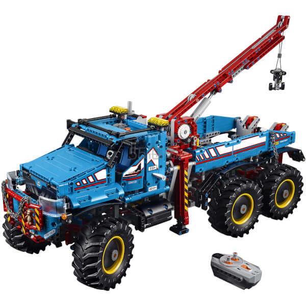 【双11 一件免邮】LEGO 乐高 6x6遥控拖车卡车套装 ¥1,289.91 - 海淘优惠海淘折扣|55海淘网