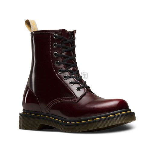Dr. Martens 马汀博士 1460 8孔高帮剑桥马丁靴 酒红色 £75(约676元) - 海淘优惠海淘折扣|55海淘网