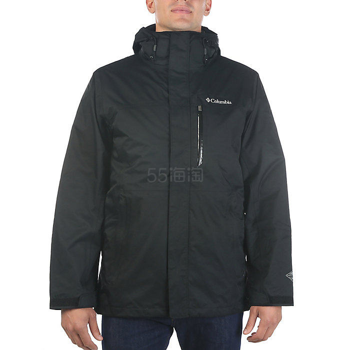 码全双色可选~Columbia 哥伦比亚 Vapor Falls 男款冲锋衣夹克
