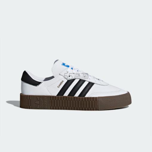 多色可选!Adidas ORIGINALS SAMBA ROSE 女士黑白运动鞋 (约347元) - 海淘优惠海淘折扣|55海淘网