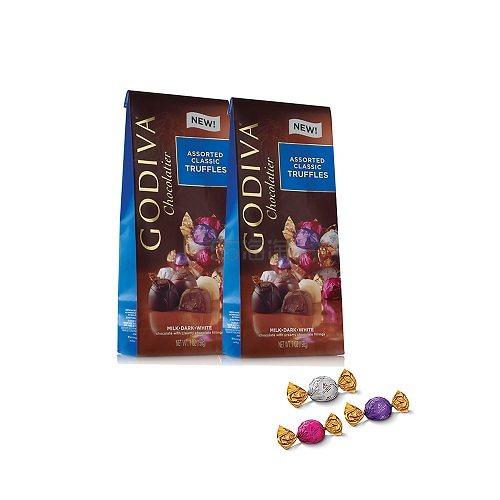 Godiva 歌帝梵 独立包装什锦松露巧克力 19颗*2 (约138元) - 海淘优惠海淘折扣|55海淘网