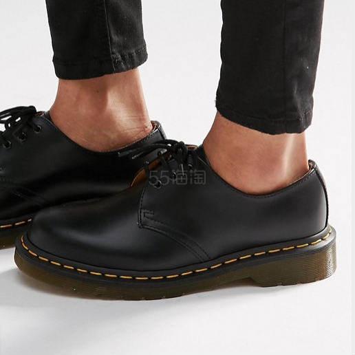 Dr Martens 1461 3-eye 哑光皮鞋