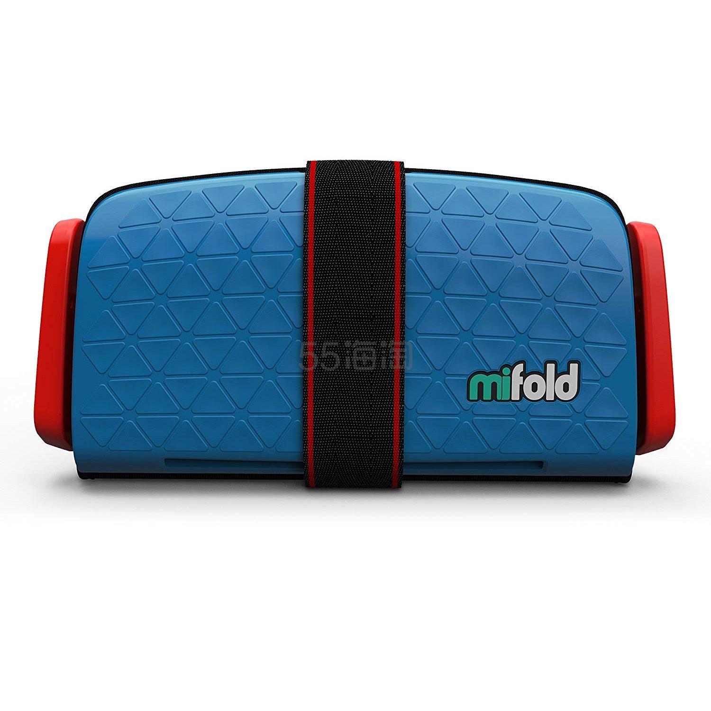 【中亚Prime会员】Mifold 儿童增高型便携安全座椅 蓝色 到手价223元 - 海淘优惠海淘折扣|55海淘网