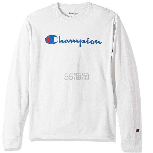 【中亚Prime会员】Champion LIFE 男式 棉质长袖T恤 到手价139元 - 海淘优惠海淘折扣|55海淘网