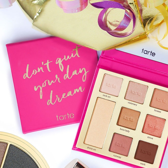 Tarte 限量 don't quit your day dream 眼影盘